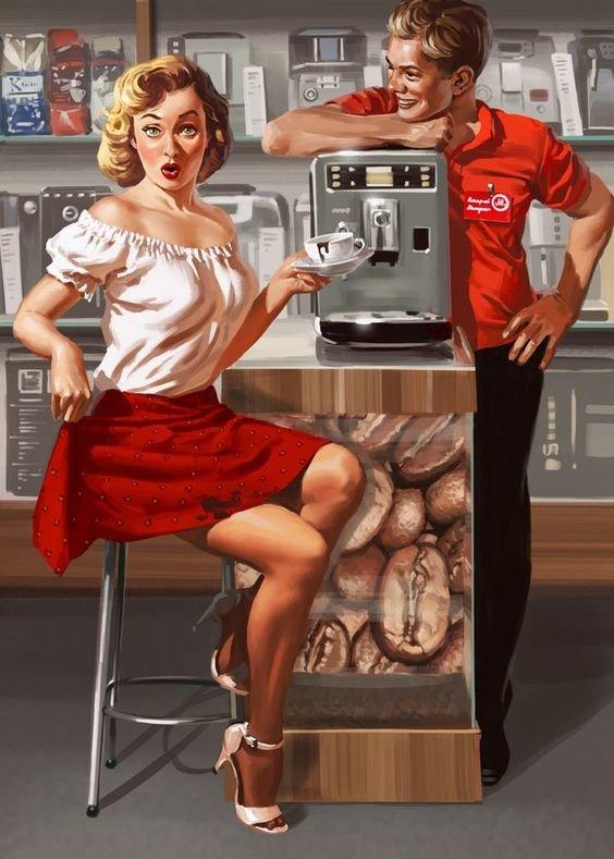 Картинки о кафе прикольные, днем