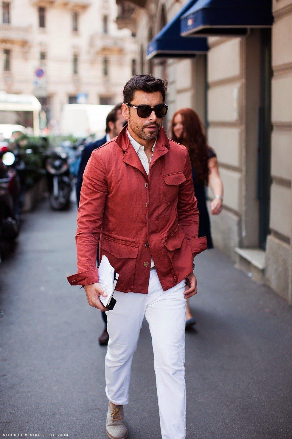 Итальянский стиль в одежде для мужчин фото