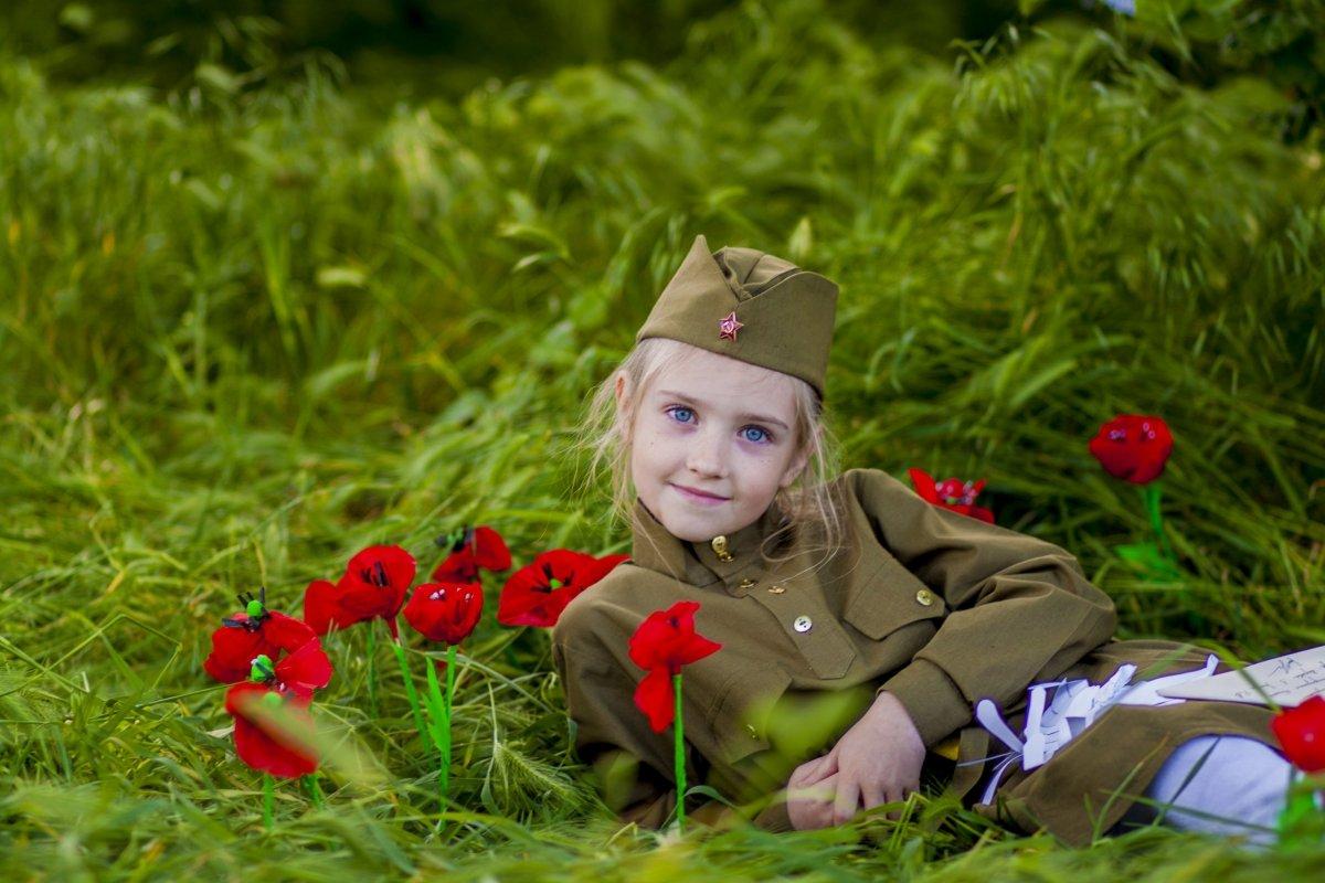 Фотографии детей в военной форме