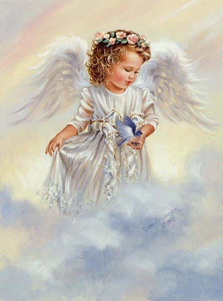 ангел и синица