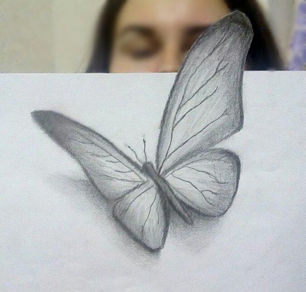 3д ручка рисуем |Супер красивая Бабочка 3d ручкой| Бабочка своими ... | 572x600