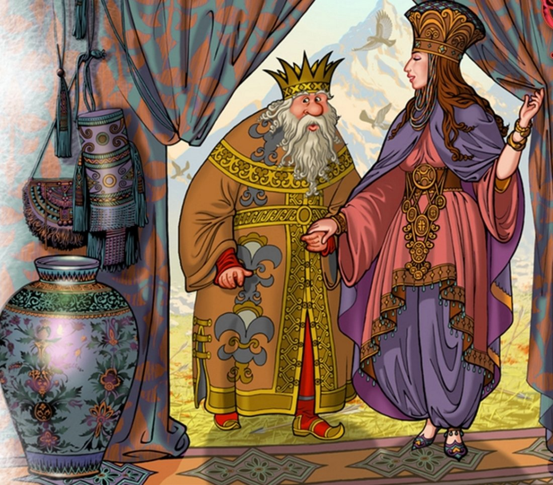 Шамаханская царица открытка