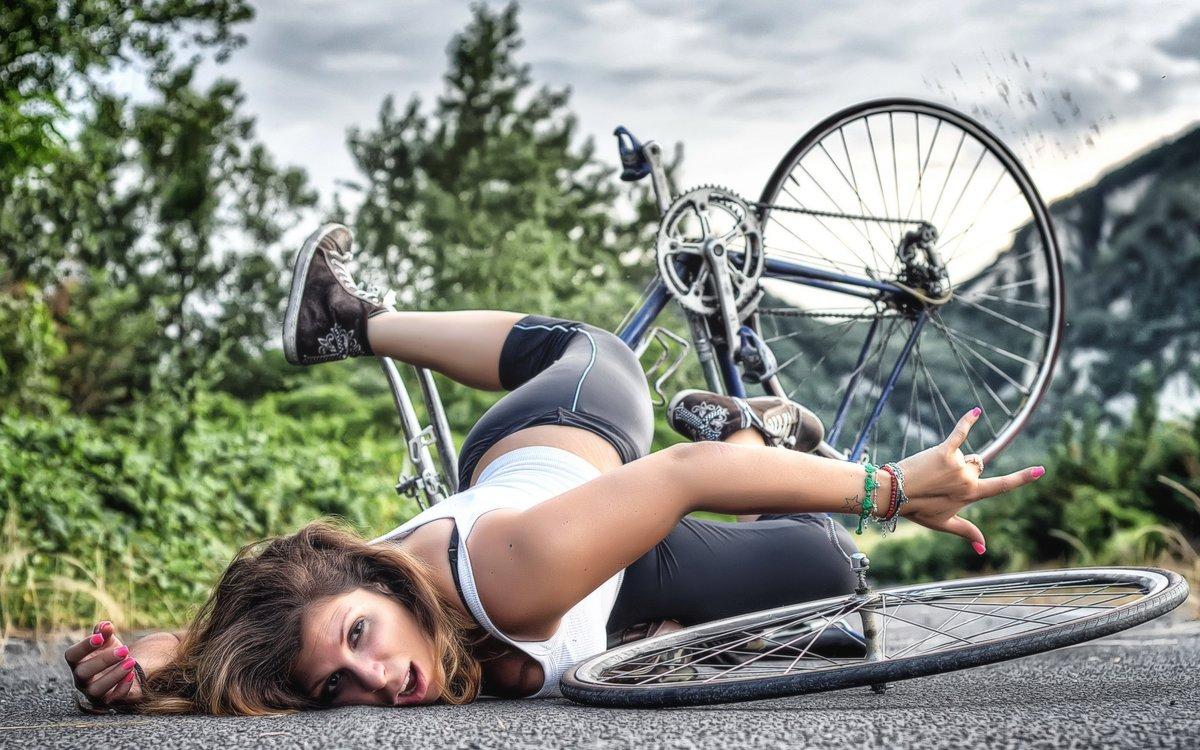 Для, упал с велосипеда прикольные картинки