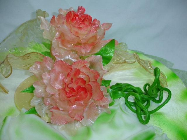 частичных фото цветы из карамели надкостницы области