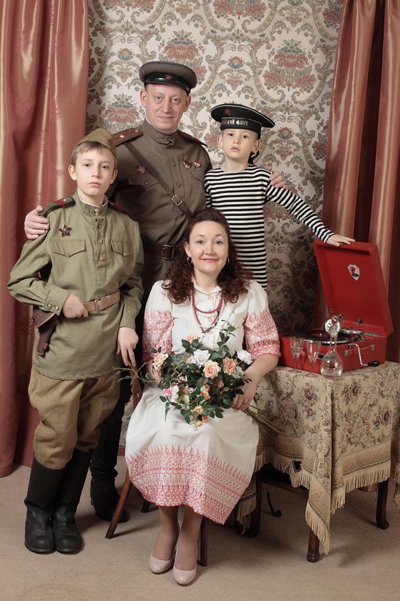 как сделать постановочное военное фото любители