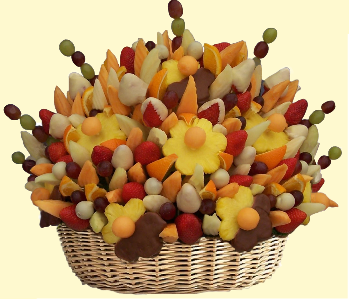 Купить, фруктово цветочный букет