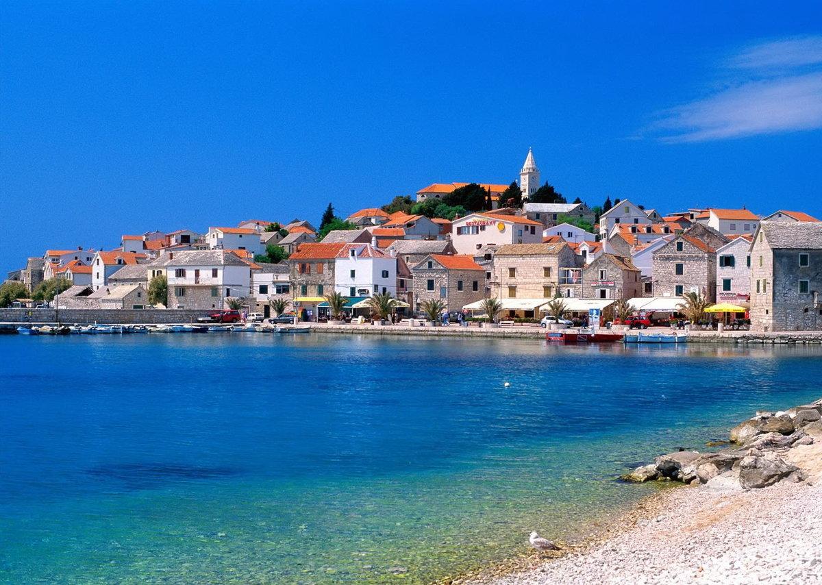 Картинки хорватия море, днем граненого стакана