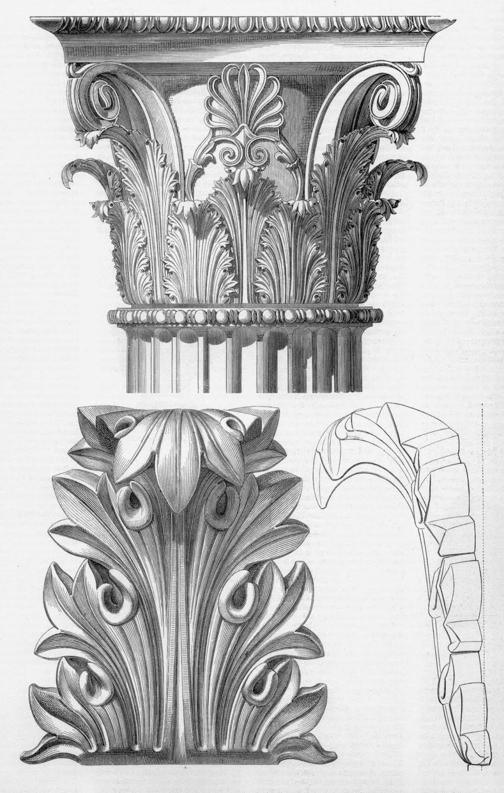 Элементы архитектуры в картинках