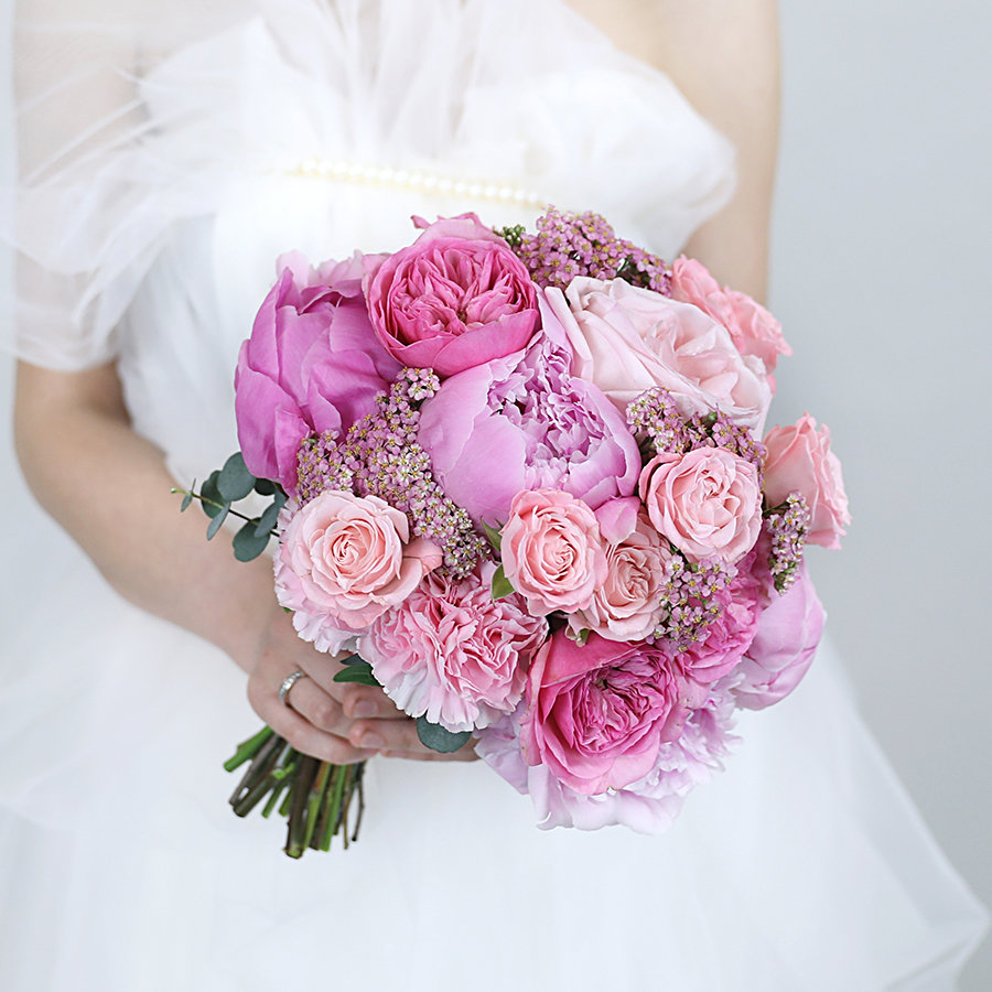 Эксклюзивные букеты из роз свадебные