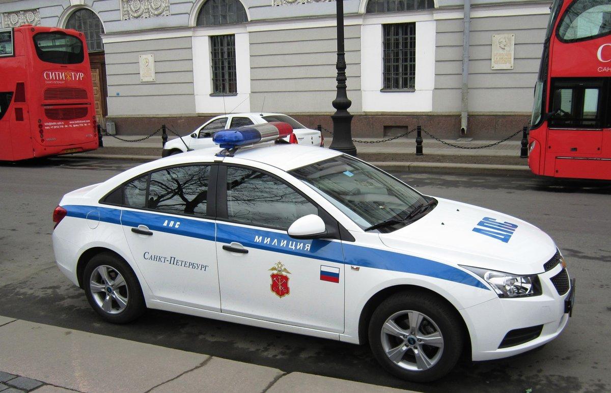 Фото машины полиция россии