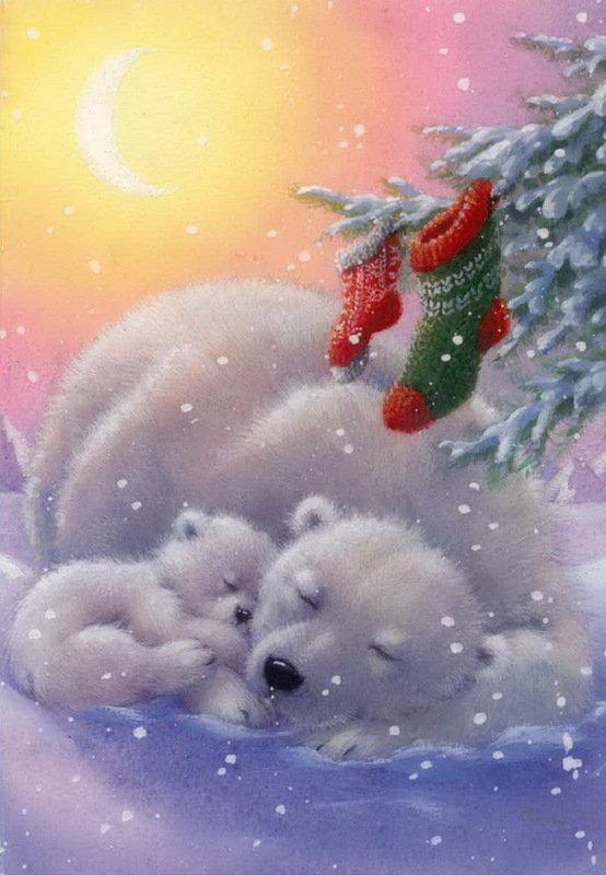 Открытки медвежонок с новым годом, картинках пнг как