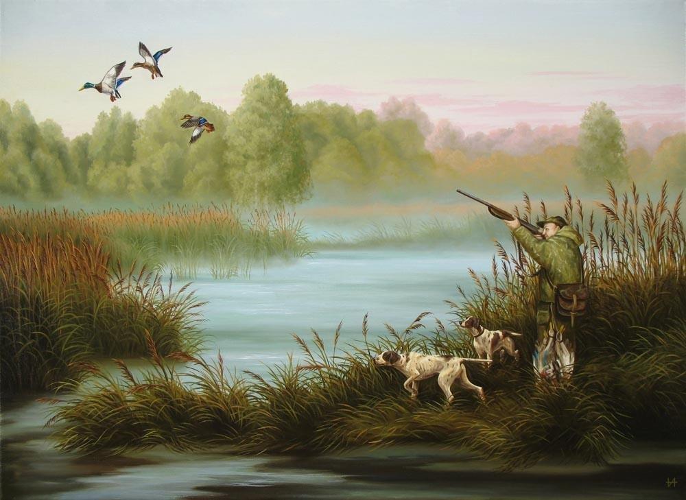 Картинки охота рыбалка природа