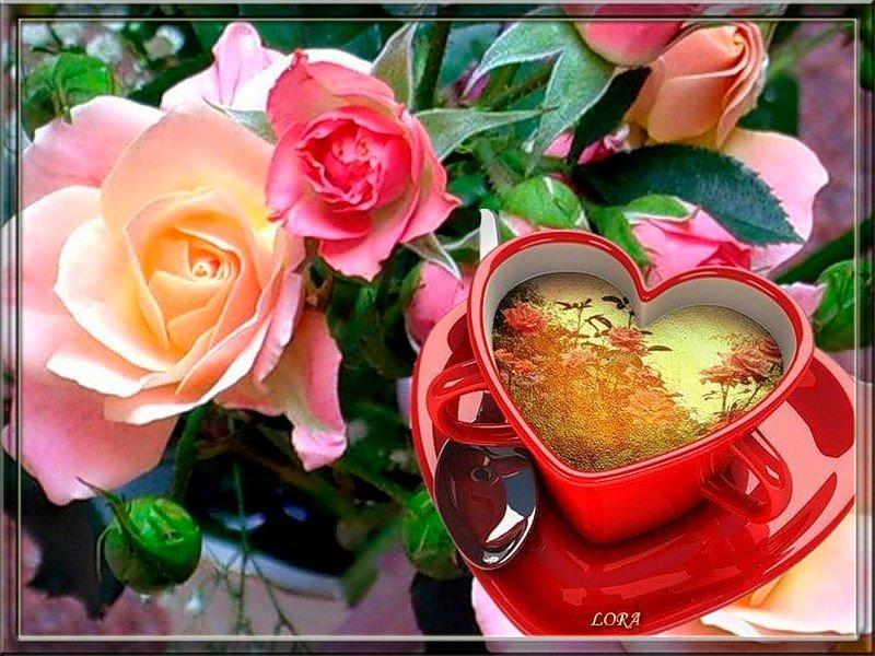 доброе утро картинки красивые с цветами и пожеланиями гиф материалов разрешена