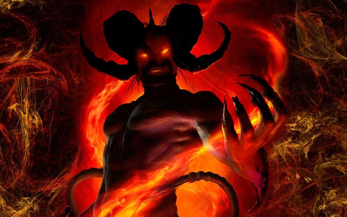 Картинки дьявола с надписями