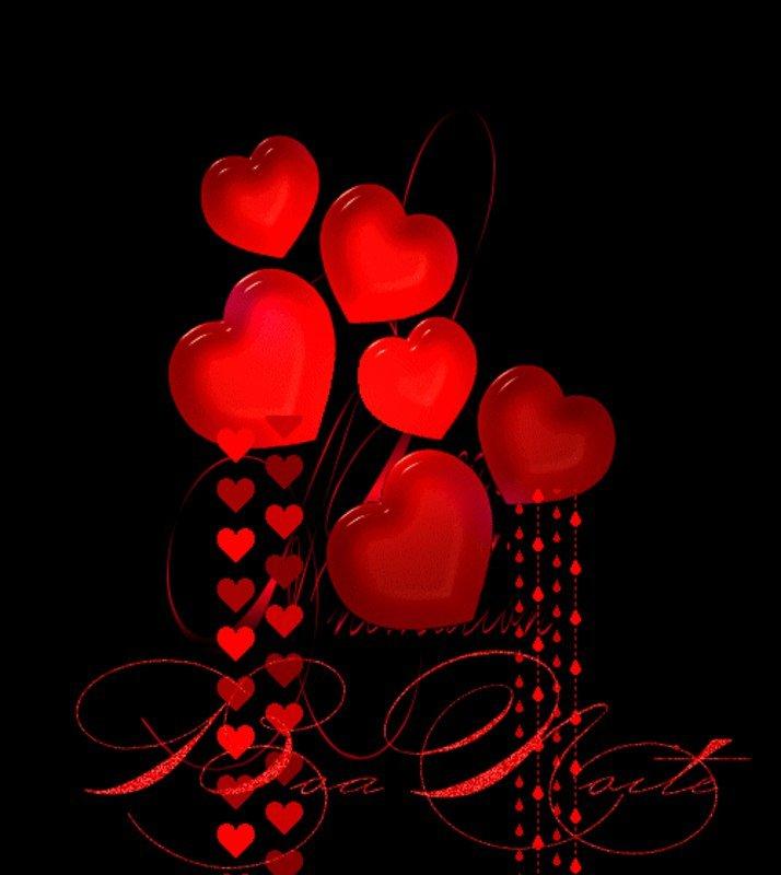 Картинки сердечки анимация сердечки, день рождения
