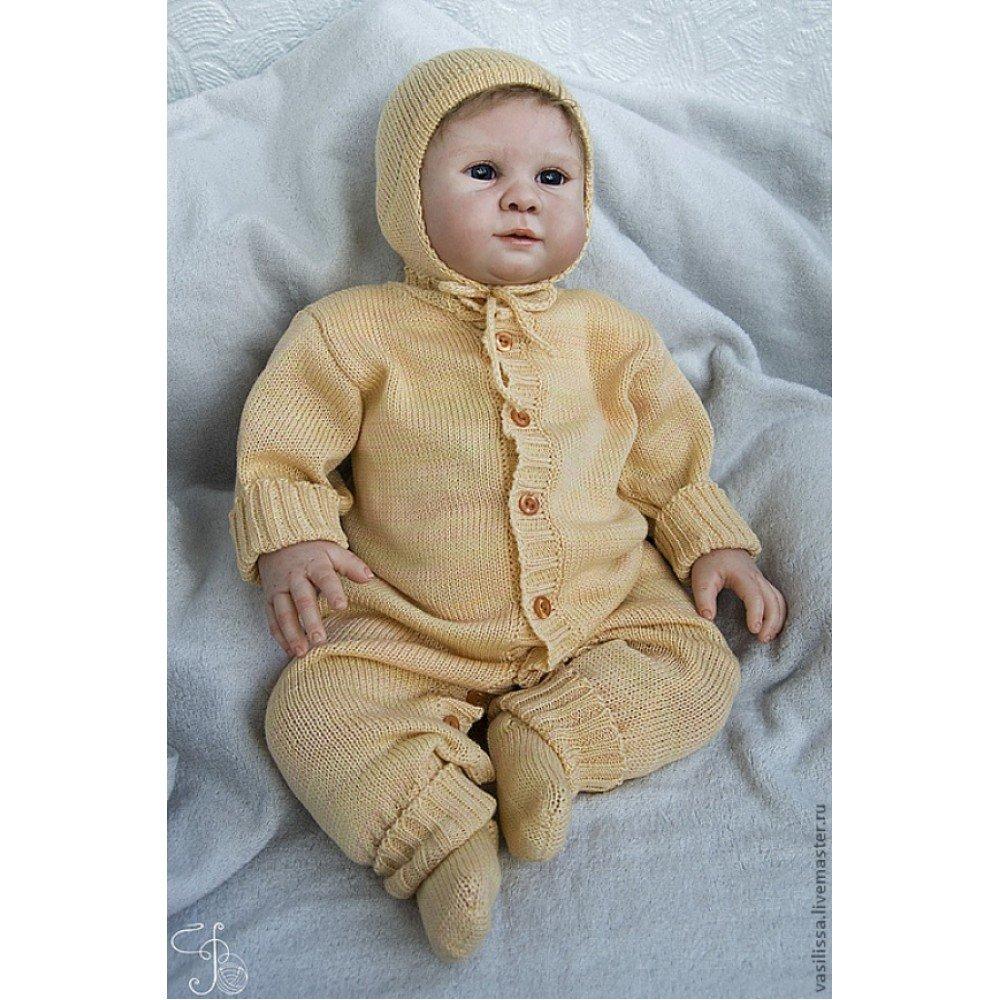 Вязаные костюмы для новорожденных картинки