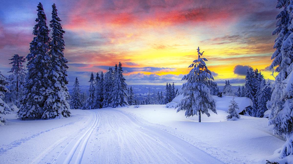 Картинки зима природа, открытки дню