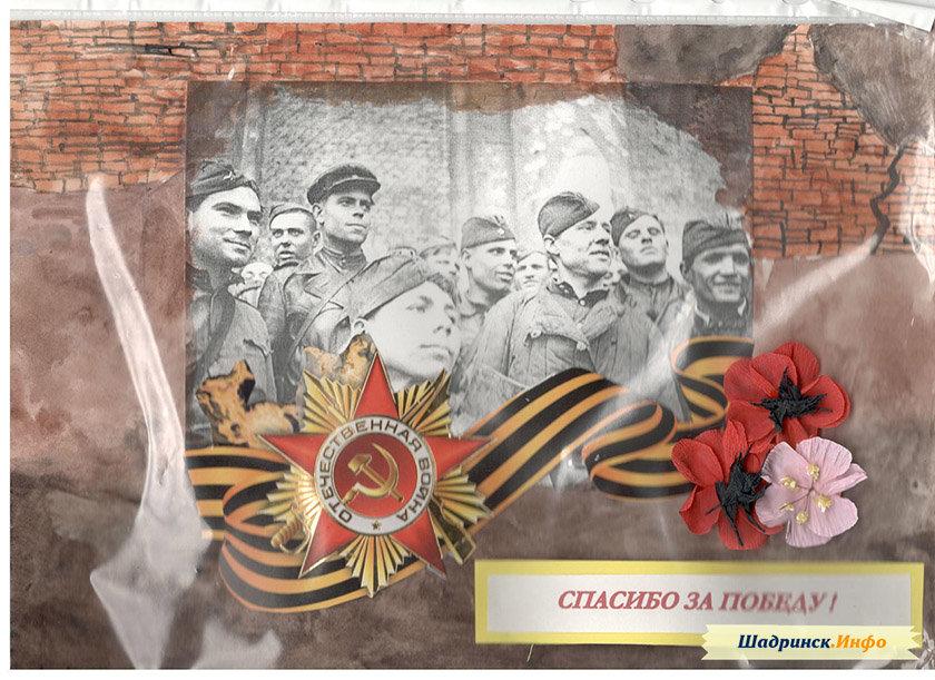 Новым годом, открытки участника войны
