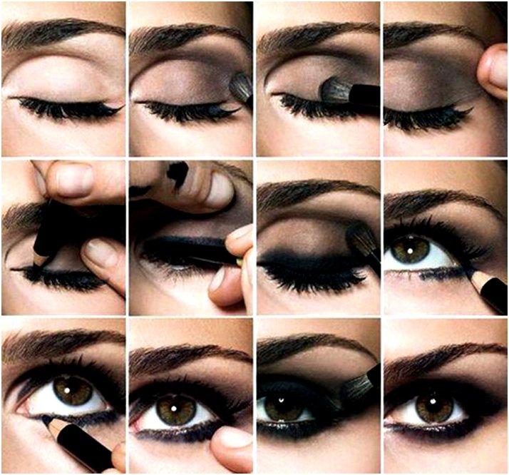 Как накрасить глаза: «Смоки Айс» пошагово. Особенности техники