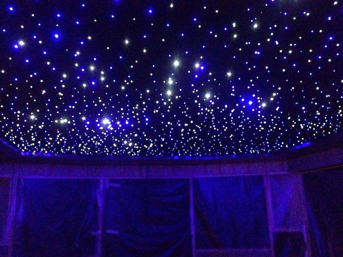 подписчики потолок в зале сиренево розовое звездное небо фото для раздвижных
