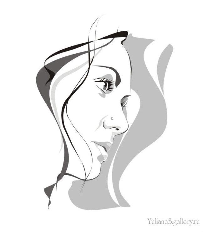 Поздравления открытки, как сделать картинку в иллюстраторе черно-белой