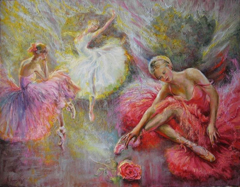 Картинки балет живопись
