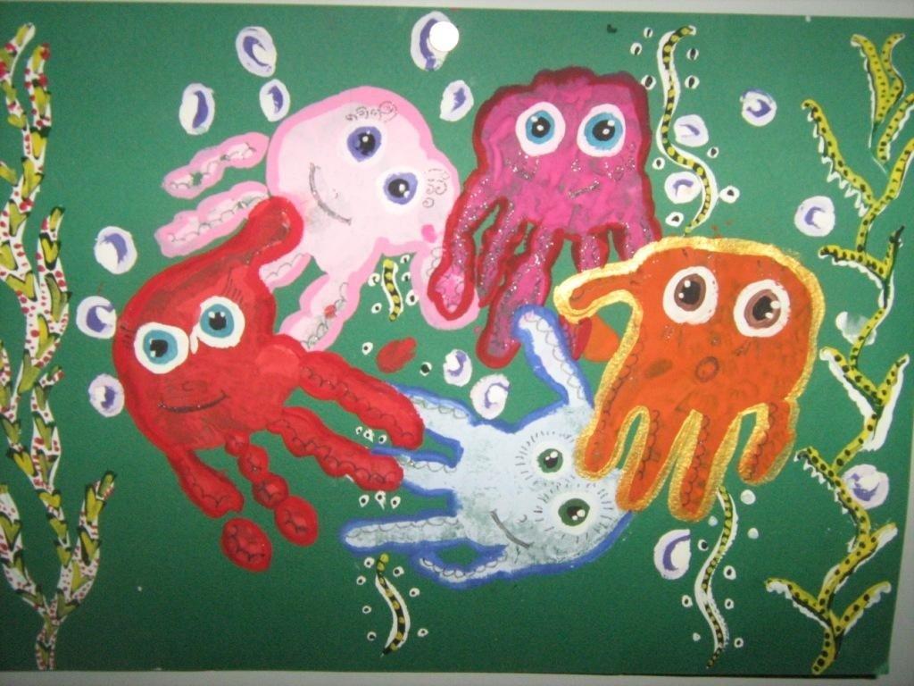 Картинки пальчиковыми красками ладошки, любви семьи