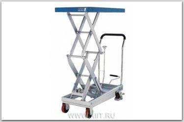 подъемный стол гидравлический тележка