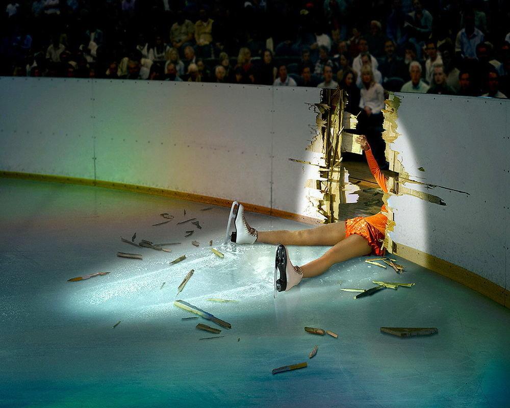 Сделать, смешные картинки на коньках