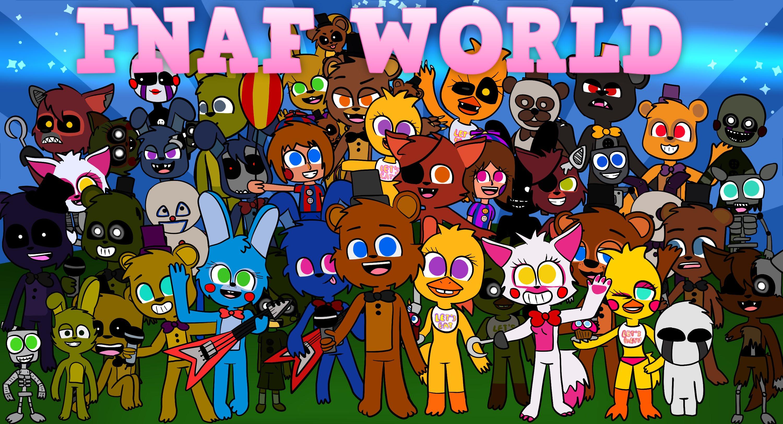 Fnaf world free download   full version   update v1. 024   youtube.