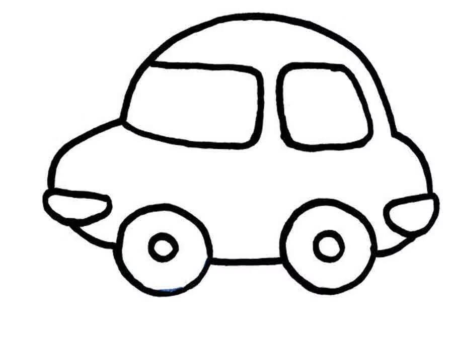 Шаблоны автомобиль для детей распечатать