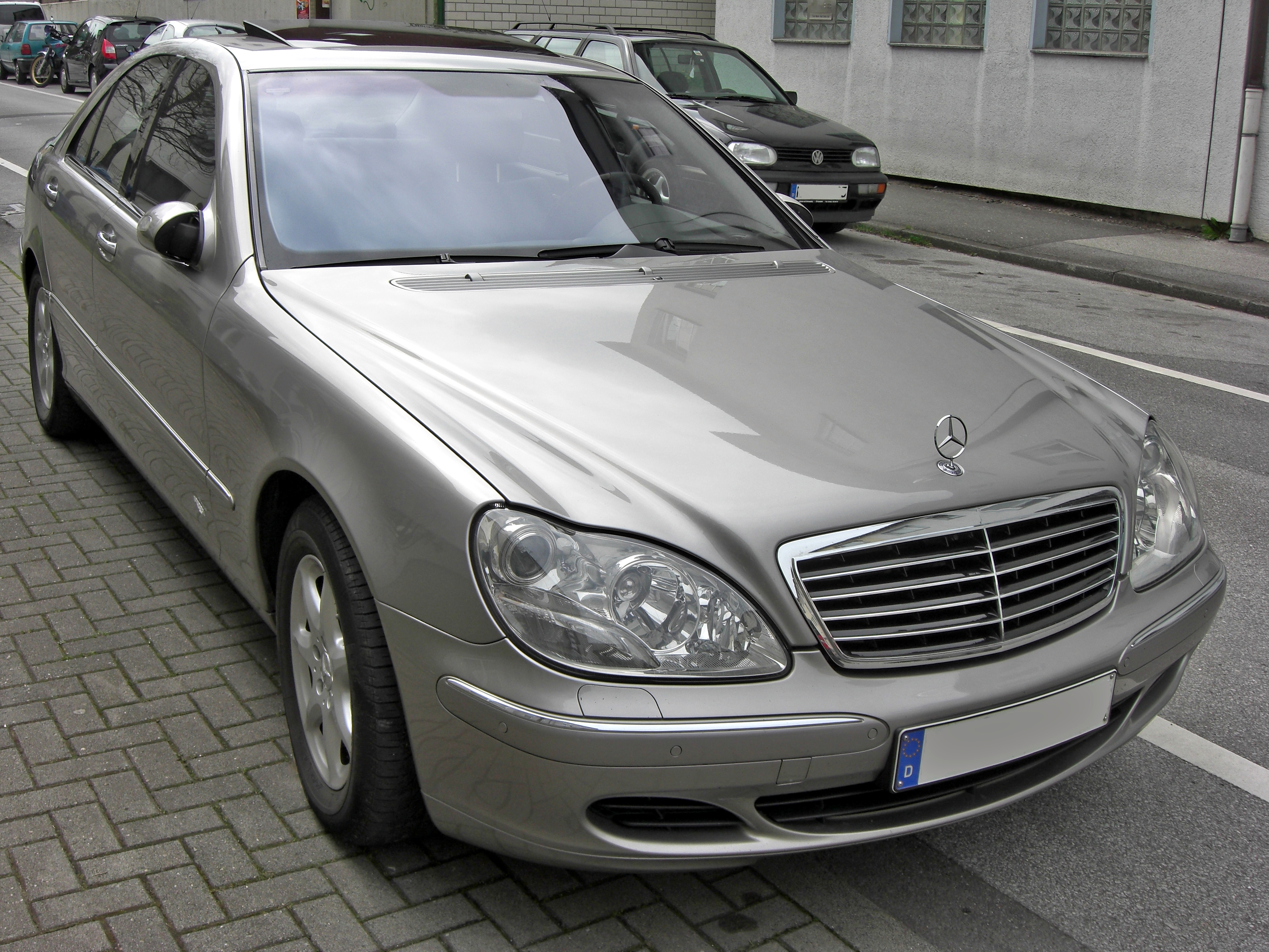 """""""Mercedes-Benz - S-class (W220) - S 350"""" — card from user yulianyurchak in  Yandex.Collections"""