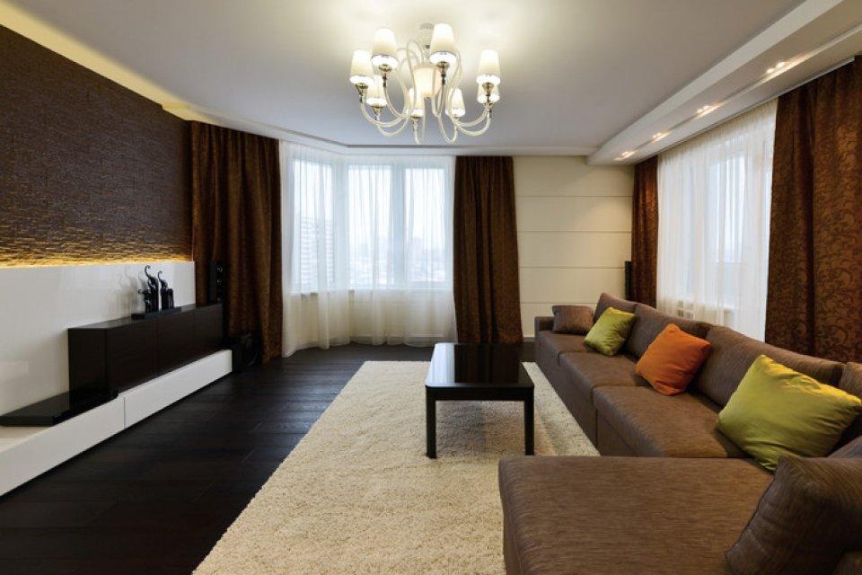 Картинки интерьеры залов в квартирах фото