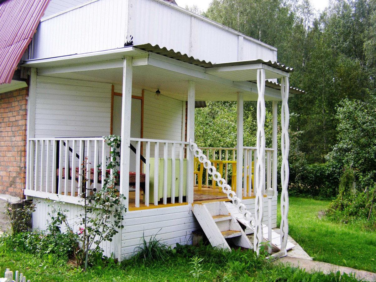 крыльцо к дому на даче фото