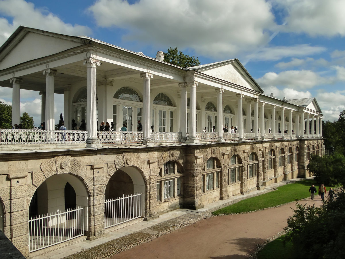 Камеронова галерея в пушкине фото