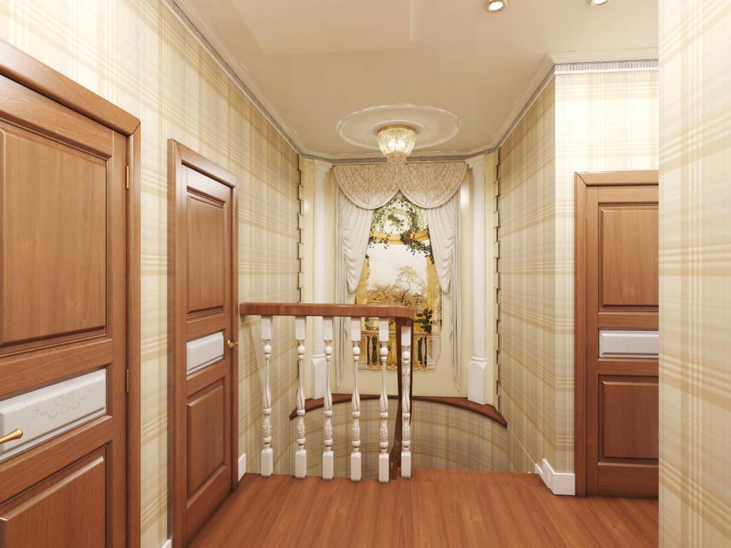 фото дизайн холла дома на втором этаже чем