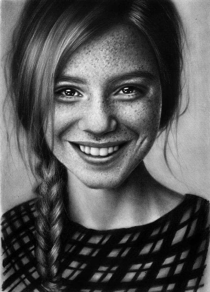 картинки портретов рисунок карандашом можно сделать