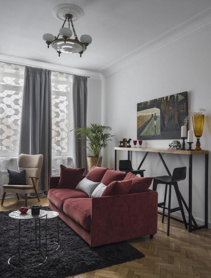 Квартира ксении собчак в москве фото