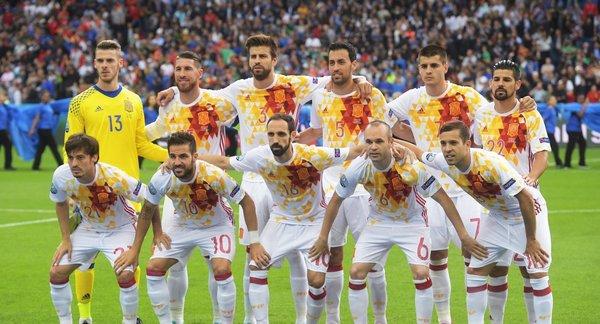 Сборник испания футбол фото