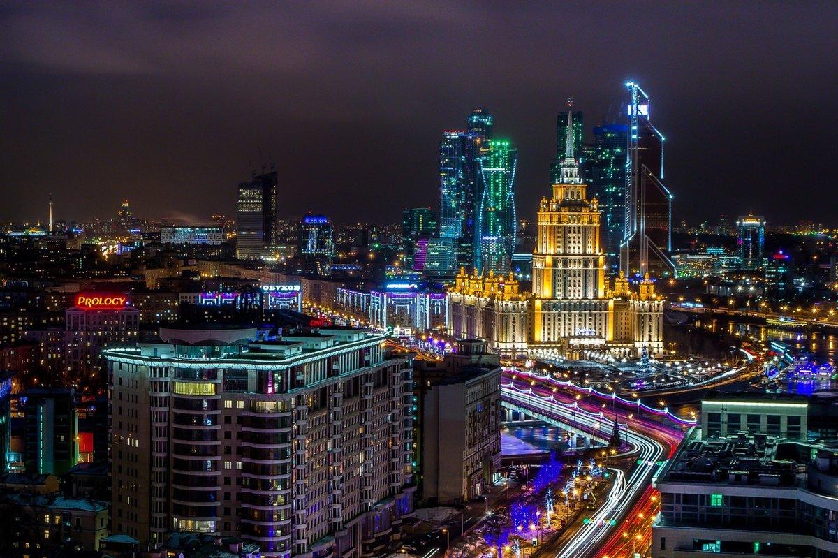 особенностью подразделений картинки города ночью москва домом