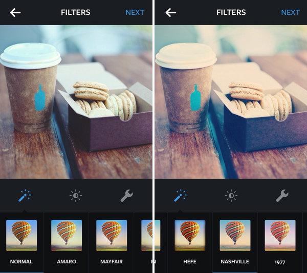 отличие как делают фильтры на фотографиях продаже