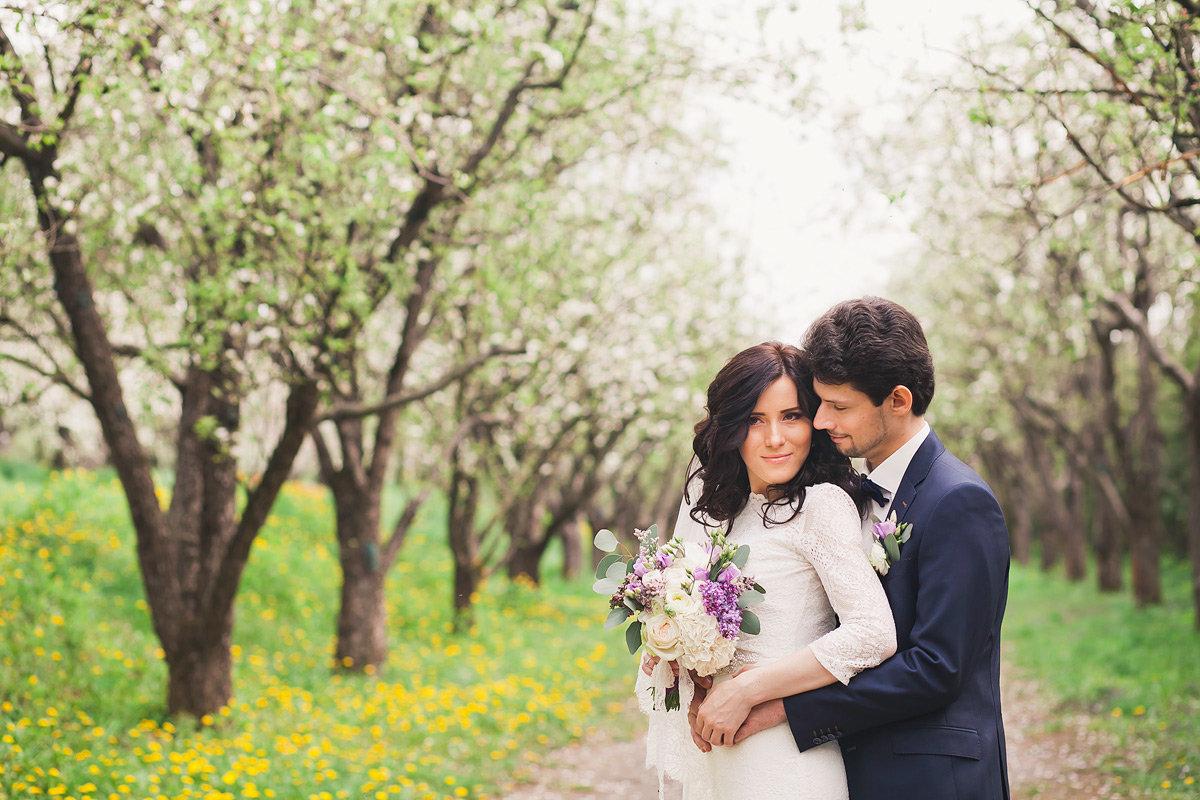 свадьбы в апреле фото самый ватный