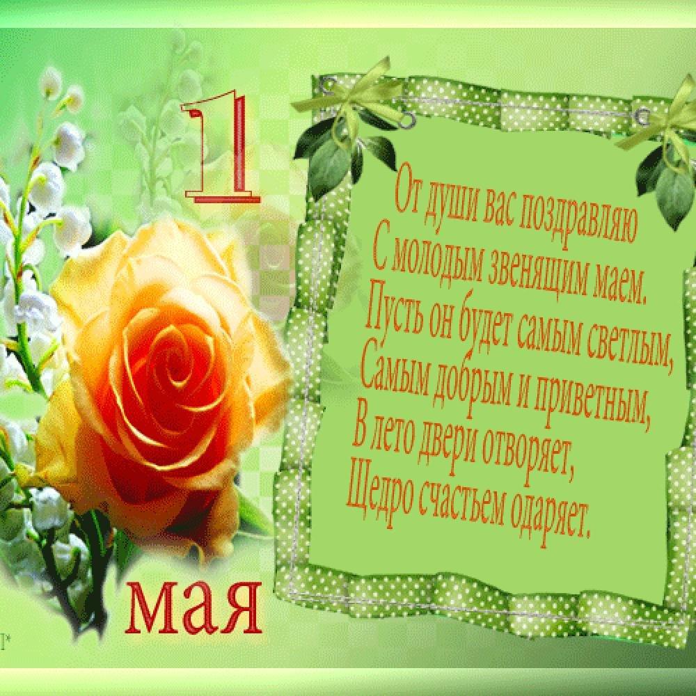 Поздравления на картинках с 1 мая
