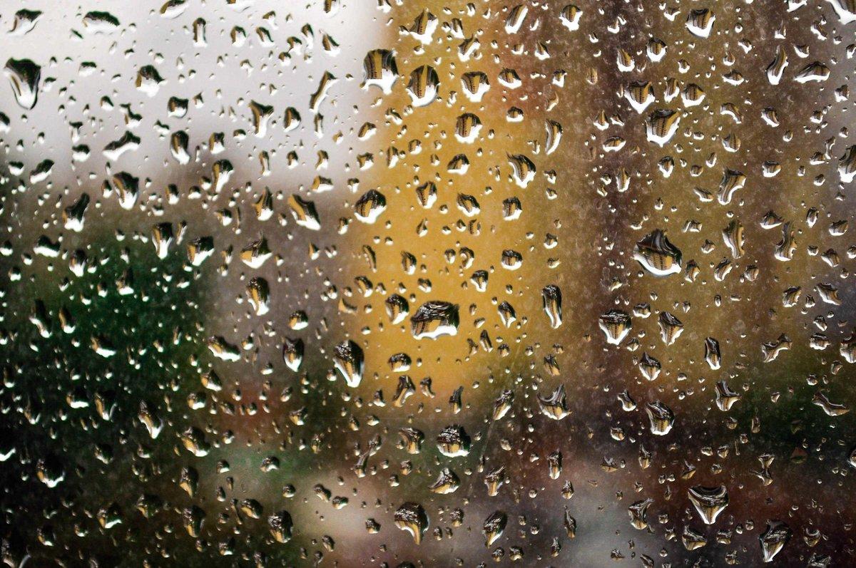 Картинка дождь на стекле, днем рождения женщине