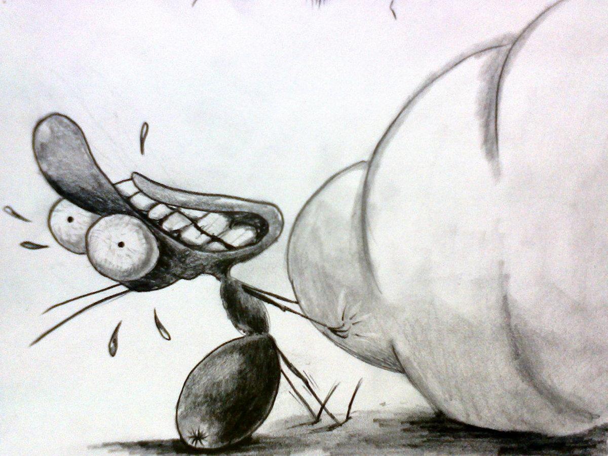 это травоядный рисунки карандашом прикольные картинки уже