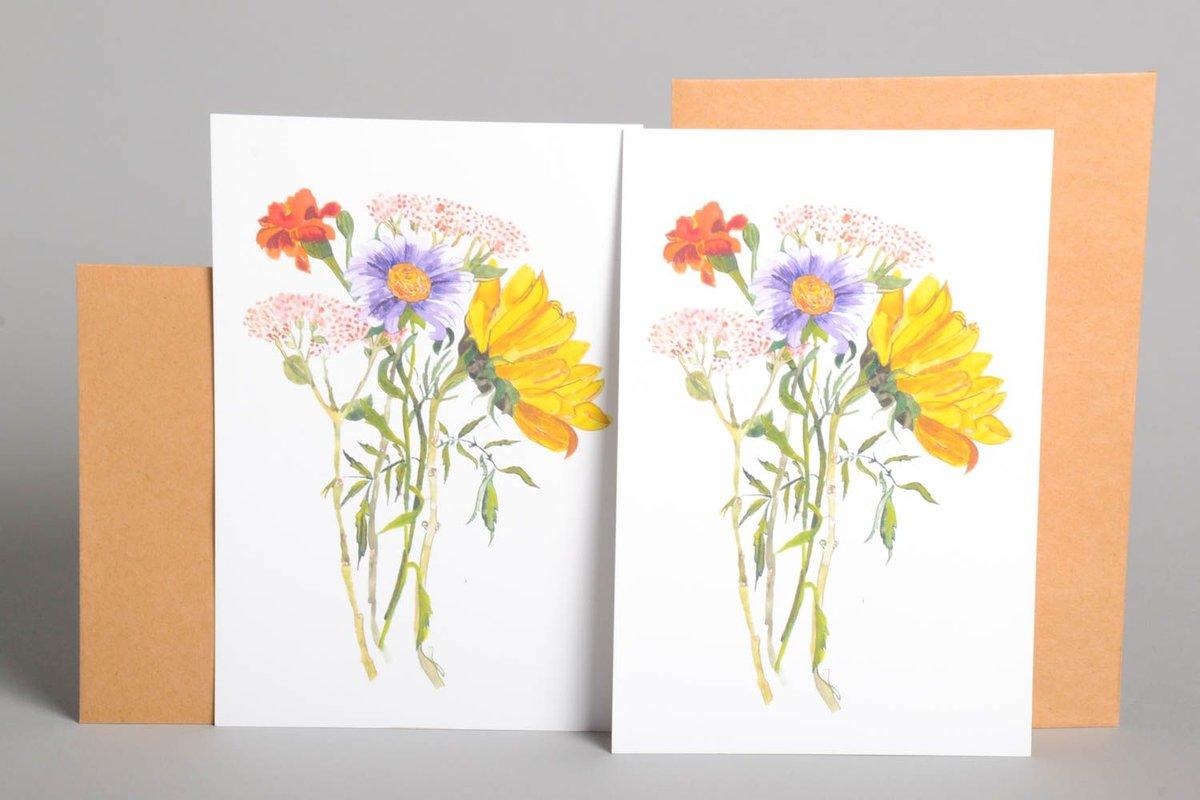 Марта, уроки рисования открыток