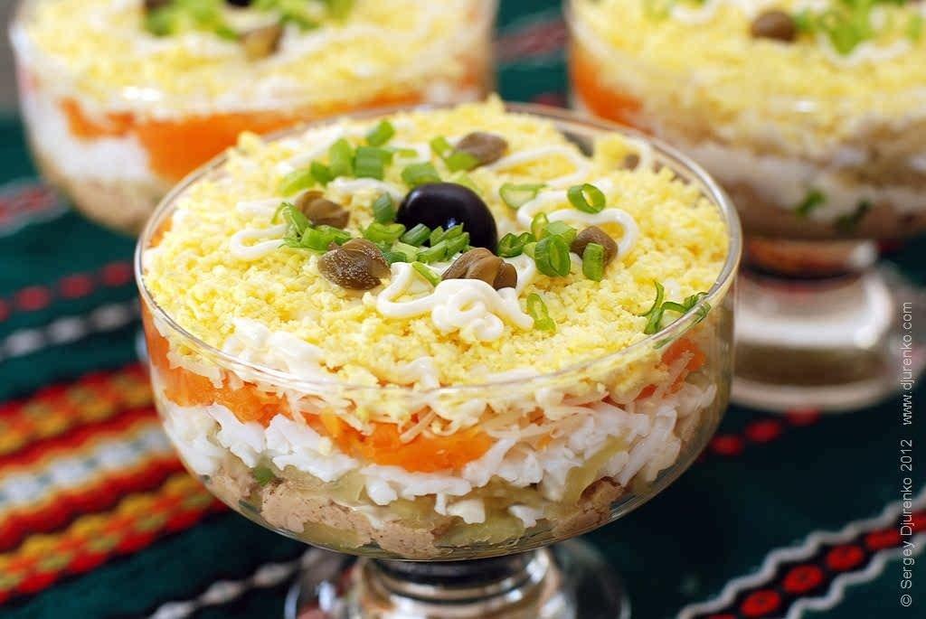 вашему вниманию простые праздничные салаты рецепты с фото фотографиях