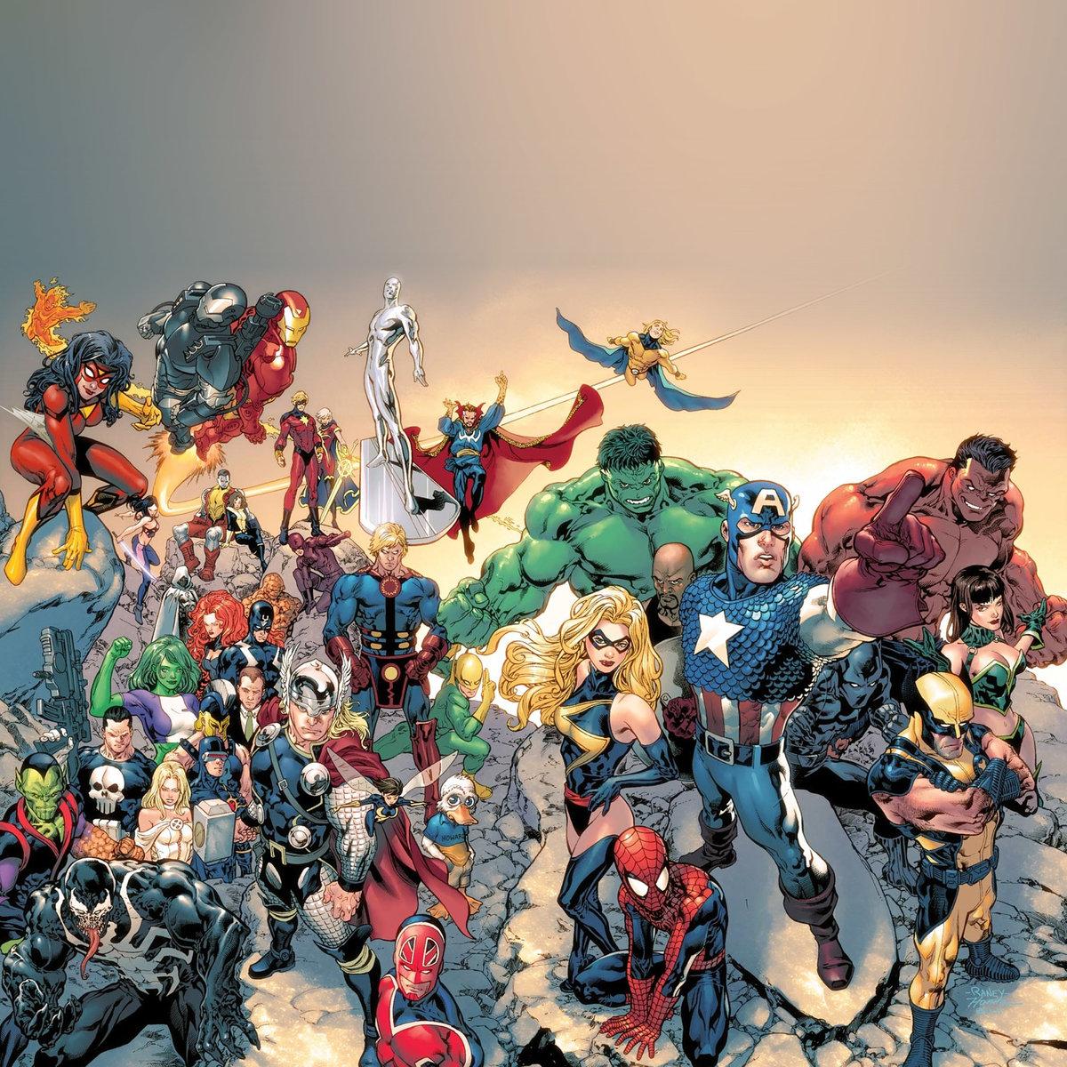 Вселенная марвел персонажи список с фото