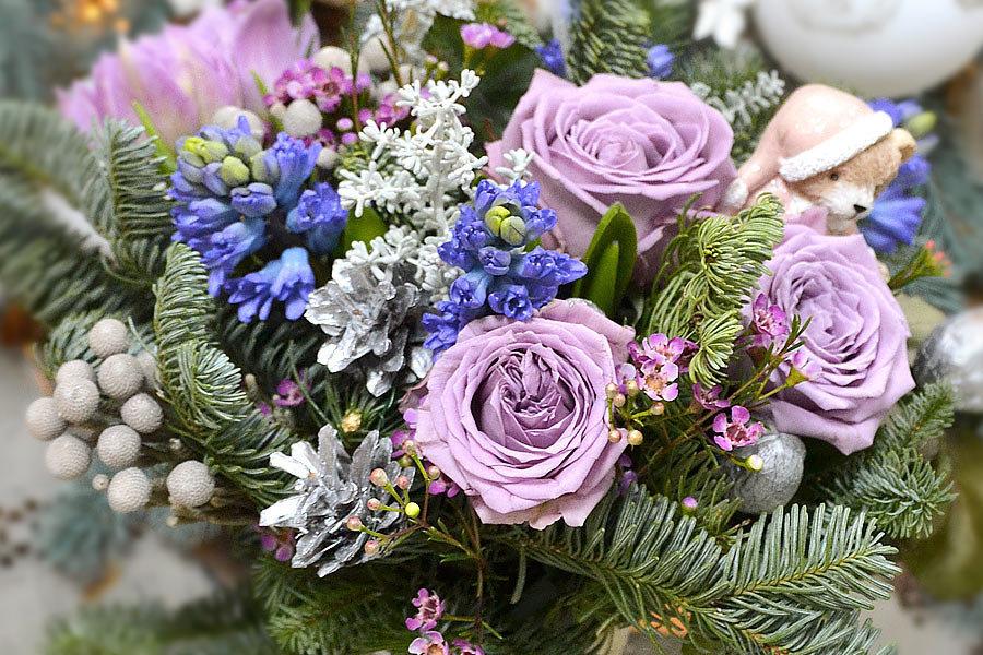 Германия, зимние букеты цветов фото красивые