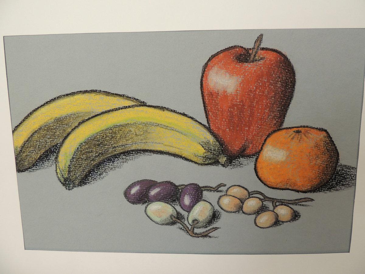 как нарисовать фрукты фото
